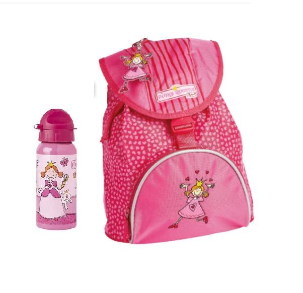 b87d1bec2d1 Τσάντα Πλάτης Nηπιαγωγείου & Μπουκάλι Νερού, Πριγκίπισσα – Sigikid